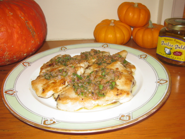 ... turkey cutlets are just the ticket when you don't need to feed a
