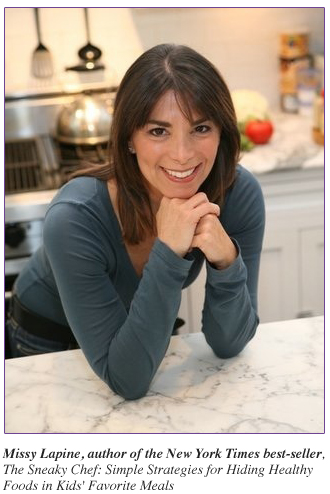 Missy Lapine Author of New York Times best-seller The Sneaky Chef
