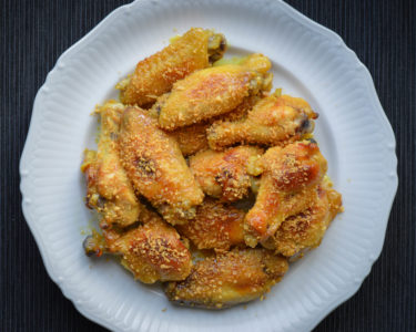 garlic honey mustard wings