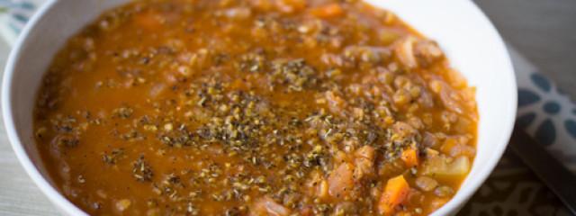 Garlic Gold Double Lentil Soup