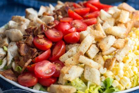 Garlic Summer Salad