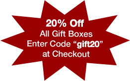 20% off all Garlic Gold Gift Boxes