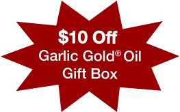 garlic gold oil gift box discount