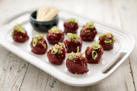 korean-meatballs-spicy-plum-glaze-2