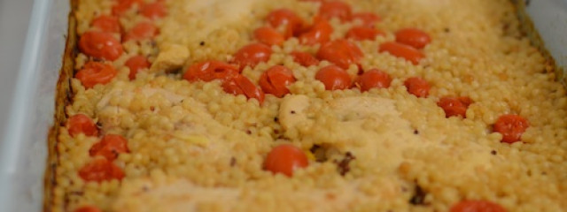 Couscous Chicken Bake