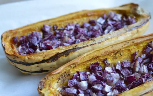 Garlic Squash Boat