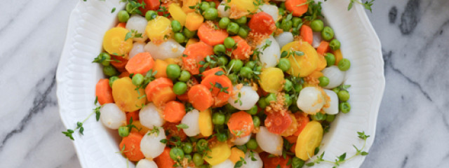 Spring Vegetable Medley with Fresh Thyme