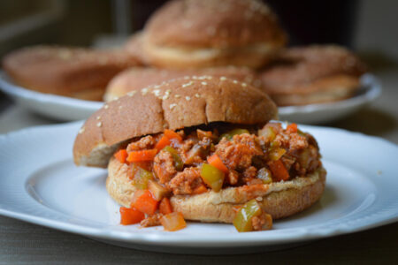 Sloppy Joes with Ground Turkey