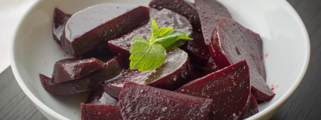 Garlic Balsamic Beets