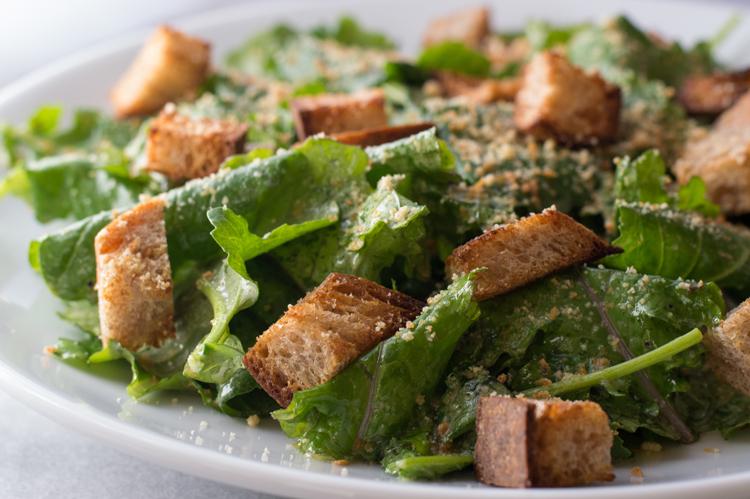 baby-kale-caesar-salad