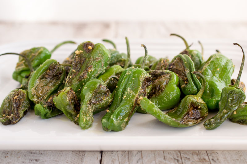 Simple Veagan padron peppers recipe